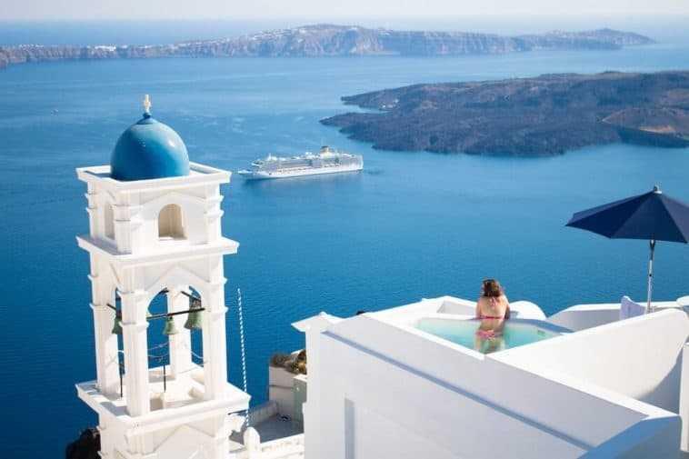 Alojamiento en Imerovigli Grecia