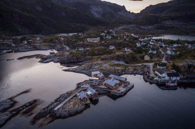 Pueblos en las Islas Lofoten