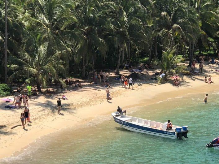Una de las mejores playas de Colombia en Tayrona