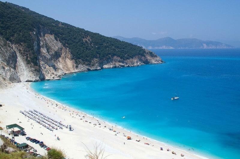 Grecia playas de arena blanca