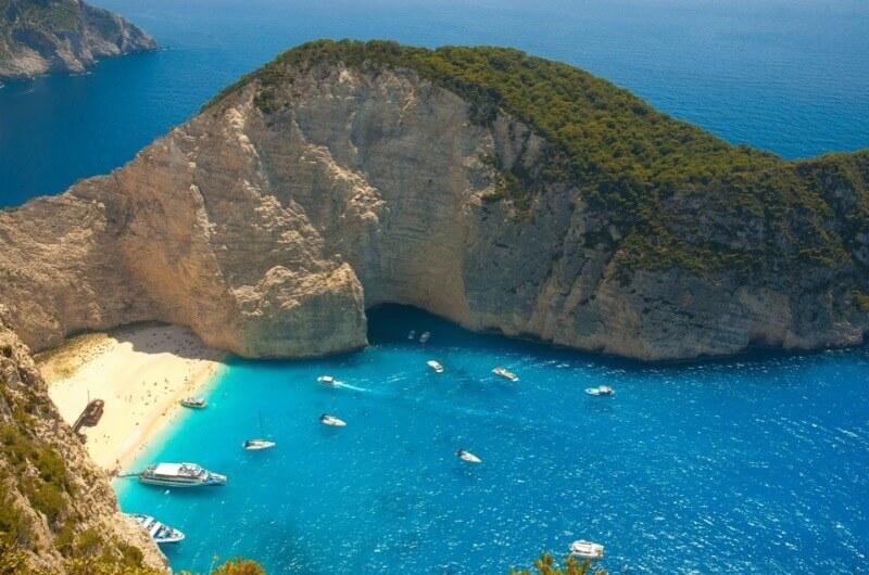Navagio, una de las mejores playas de Grecia