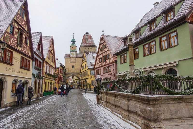 Rothenburg ob der tauber, uno de los pueblos más bonitos de Europa