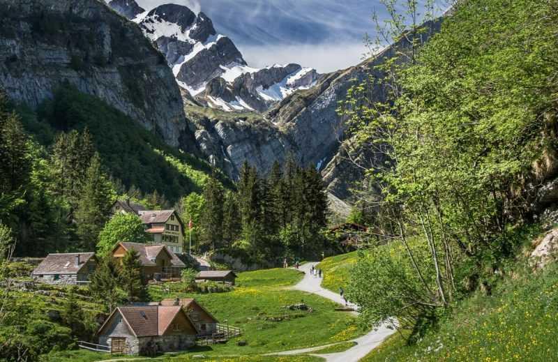 Caminos de Appenzell