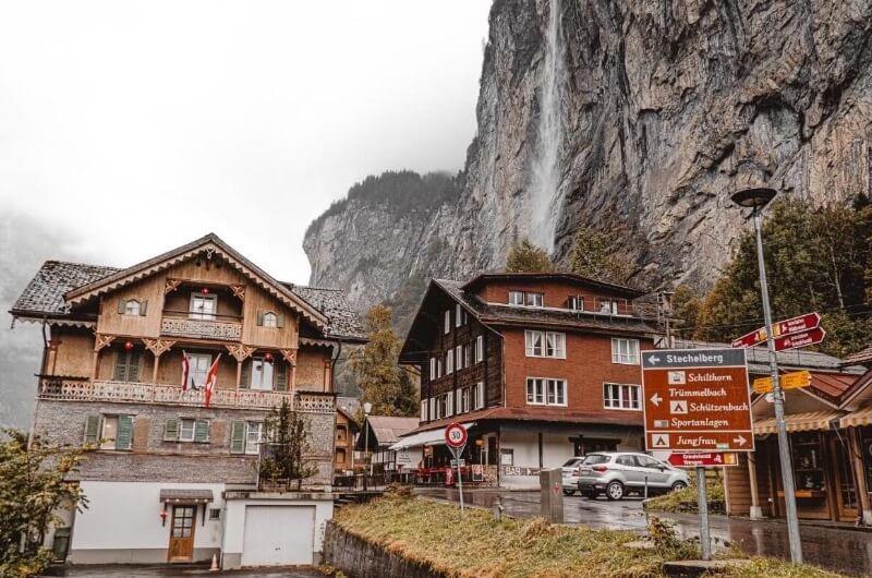 Casas en Lauterbrunnen