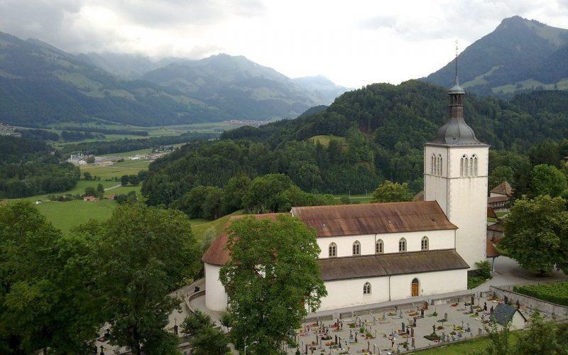 Iglesia Saint-Théodule en Gruyères