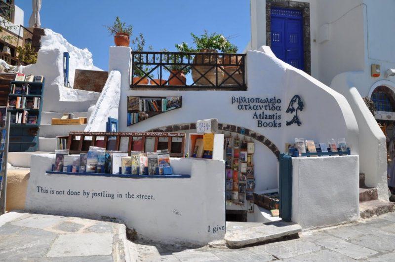 Libreria Atlantis Santorini