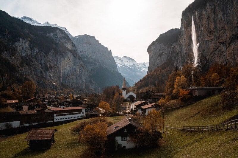 Staubbachfall Lauterbrunnen