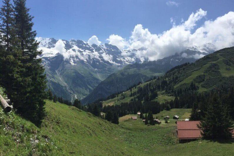 Vistas desde Gimmelwald