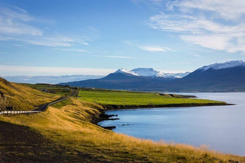 Akureyri en Islandia