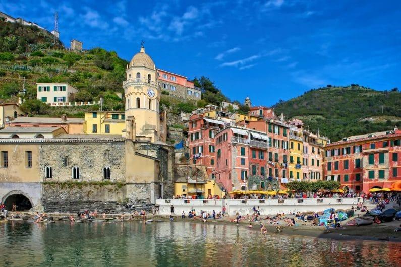 Vernazza pueblos de Italia
