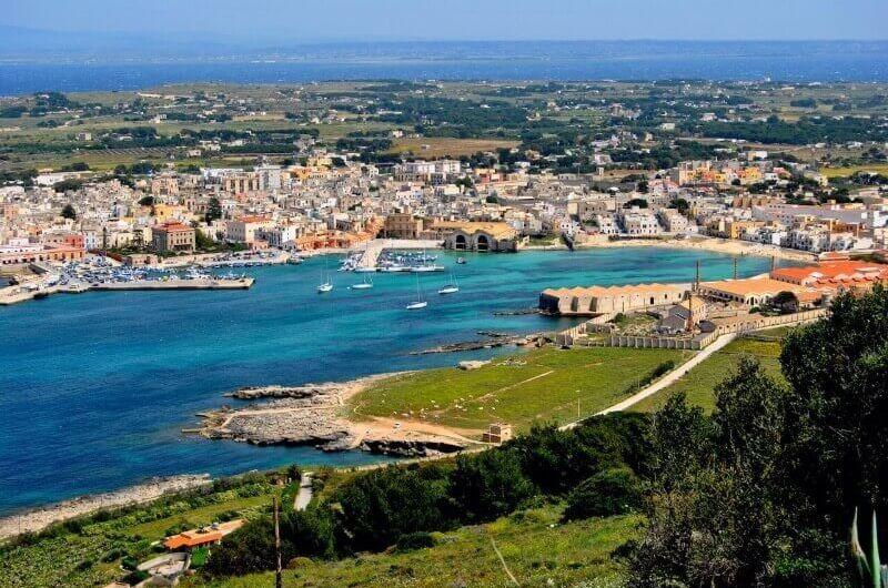 Isla Favignana en Italia