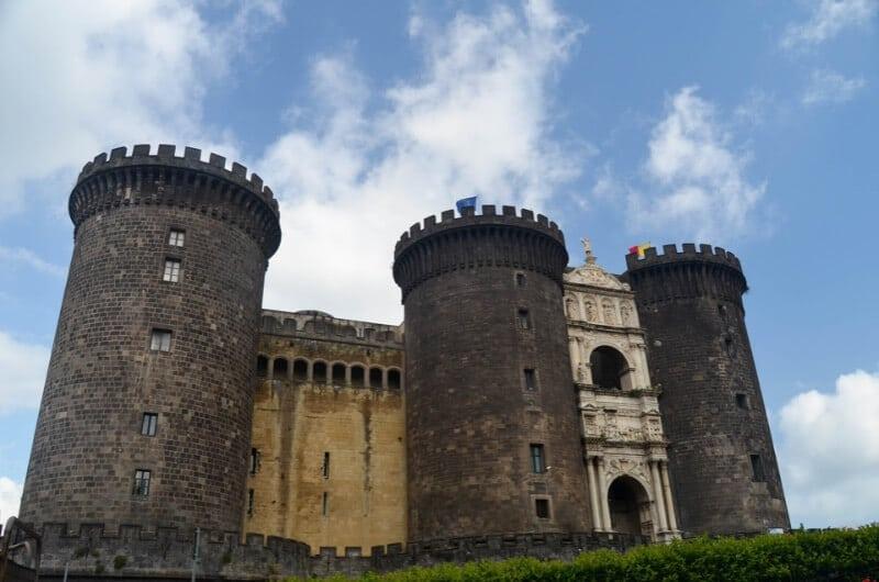 Castel Nuovo Nápoles