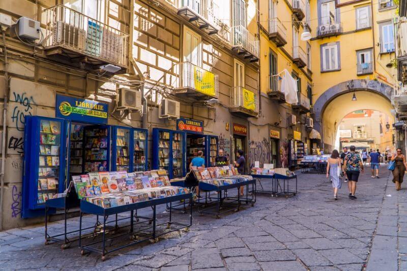 Mercados locales de Nápoles