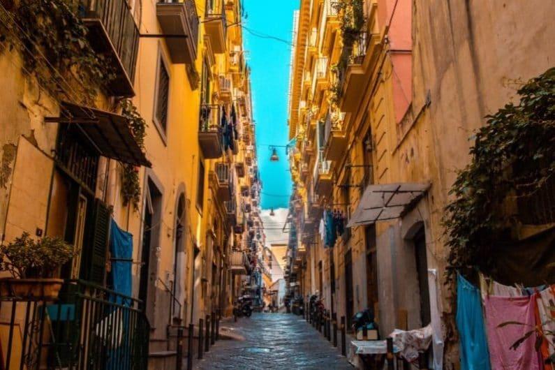 Seguridad en Nápoles