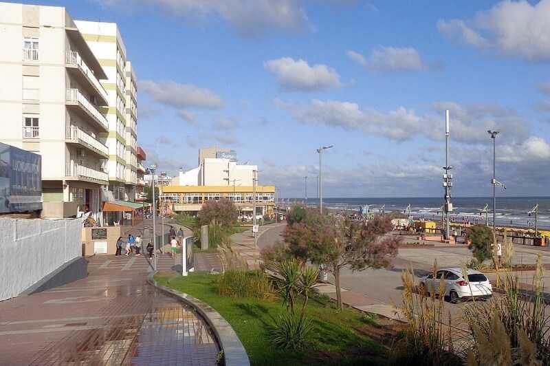 Alojamiento frente al mar Monte Hermoso