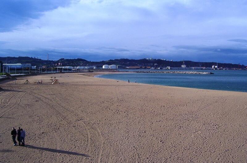 Playa de Poniente Asturias