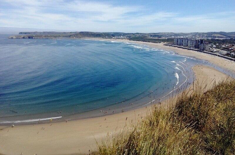 Playa de Salinas Asturias