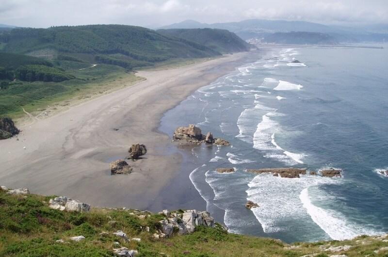 Playón de Bayas Asturias