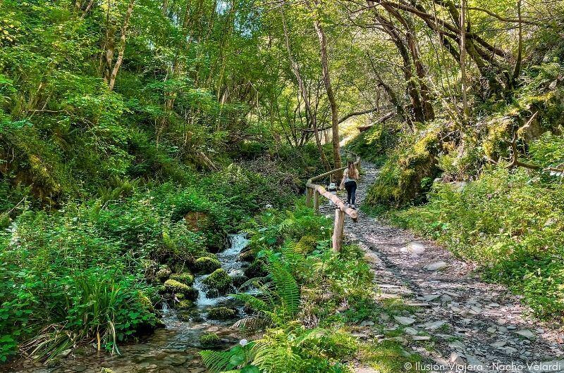 Camino Cascada da Salgueira Taramundi
