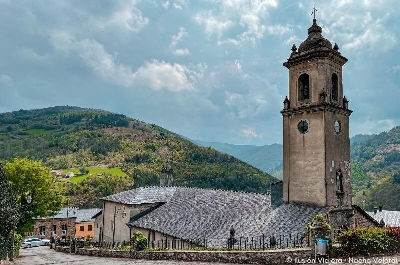 Iglesia de San Martin de Tours en Taramundi