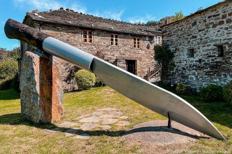 Navaja Gigante Museo de la Cuchillería Taramundi