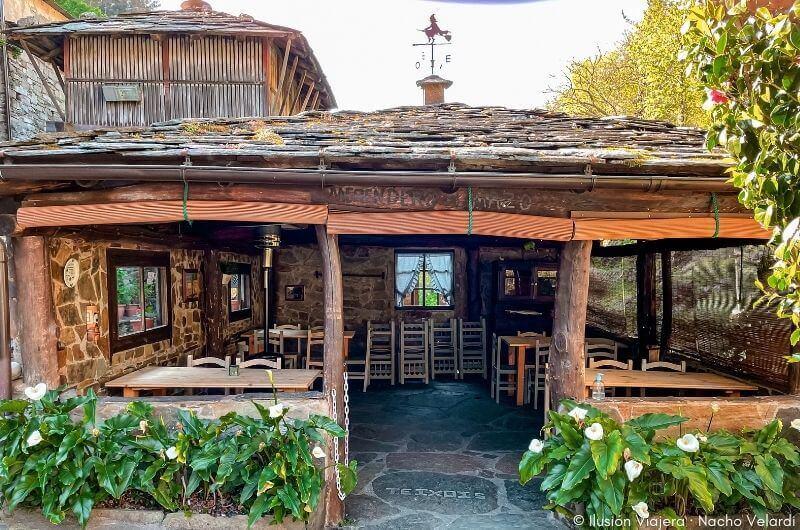 Restaurante El Mazo en Os Teixois