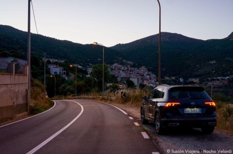 Ruta en coche Cerdeña
