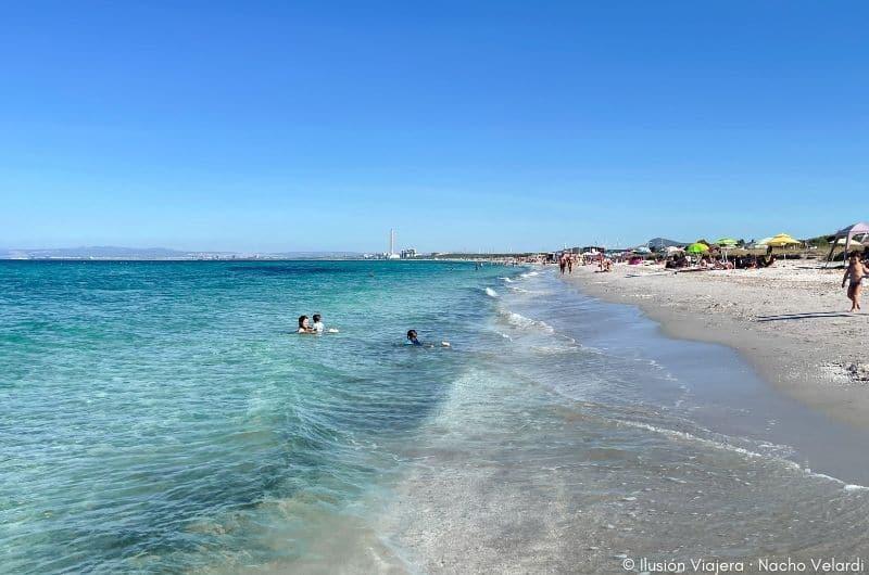 Spiaggia Le Saline Cerdeña © Ilusión Viajera