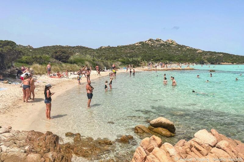 Spiaggia dei Cavaliere, una de las mejores playas de Cerdeña