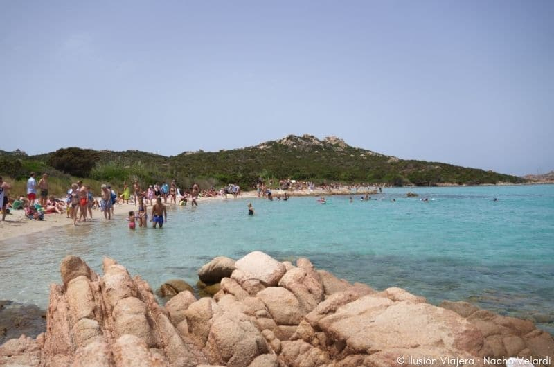 Spiaggia dei Cavaliere en La Maddalena