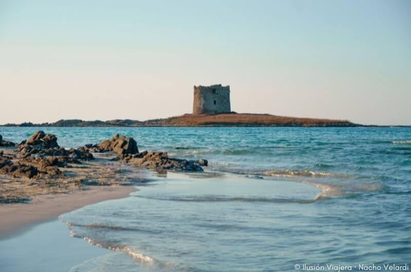 Spiaggia della Pelosa, una de las mejores playas de Cerdeña