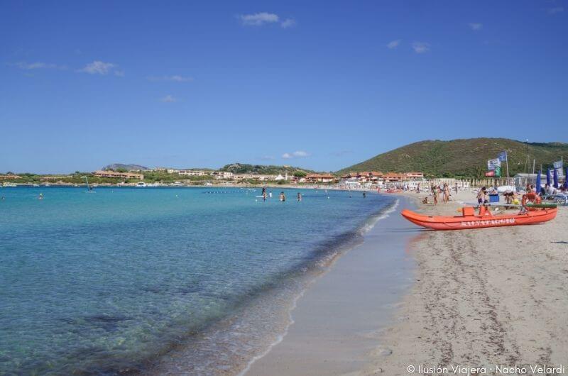 Spiaggia di Marinella en Cerdeña