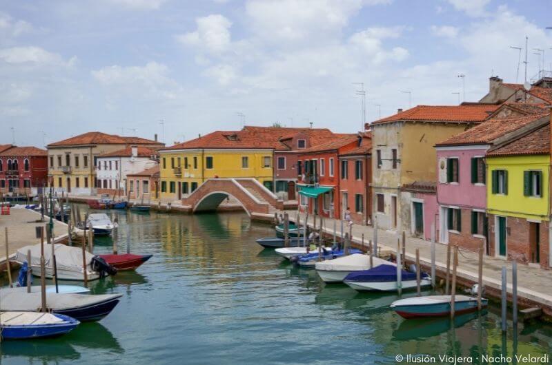 Isla de Murano en Venecia